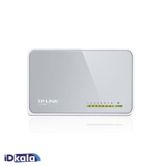 TP-LINK TL-SF1008D Ver 9.0 8-Port Switch